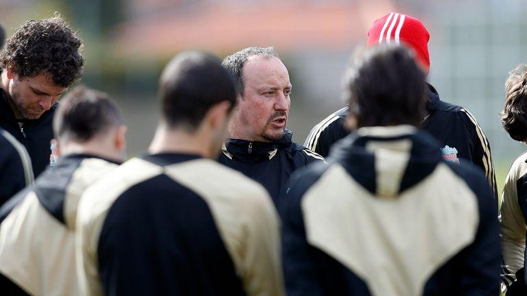 Mikel San Jose had a good relationship with Rafael Benitez at Liverpool