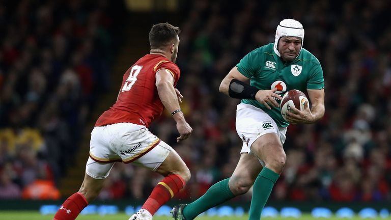 Rory Best had an indifferent game agaisnt Wales