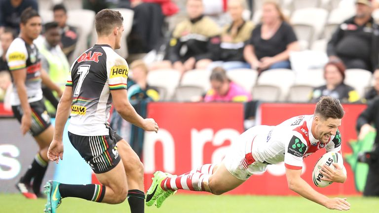 St George Illawarra Dragons keen to keep Gareth Widdop