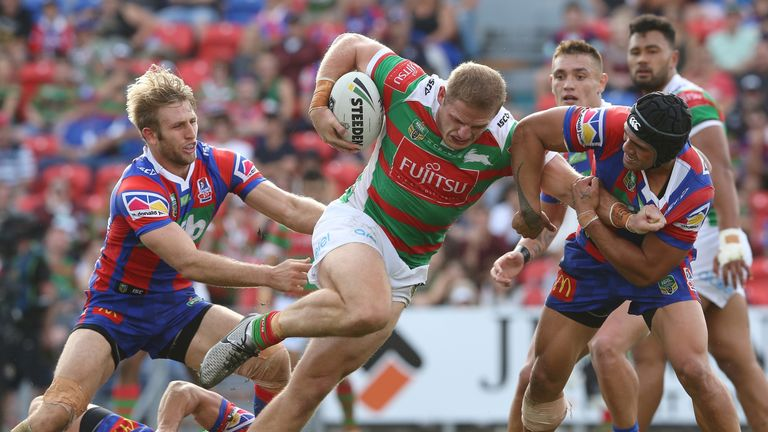 George Burgess has been slapped with a suspension