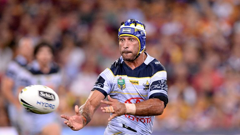 Thurston kicked nine points in the dramatic win over Brisbane