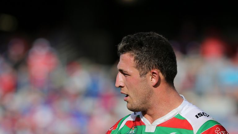 Sam Burgess failed a head injury assessment in his side's loss