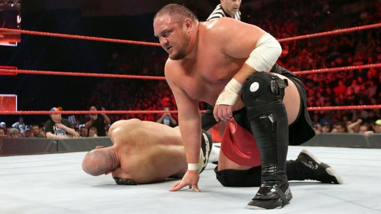 Image result for Samoa Joe raw