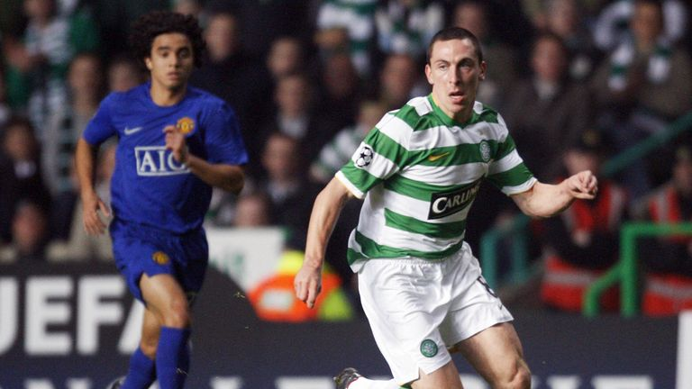 Scott Brown feels he has evolved as a midfield player in his decade with Celtic