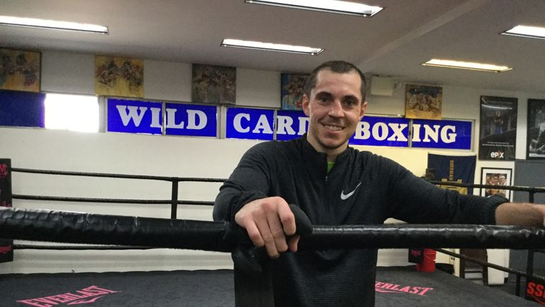 Scott Quigg at the Wild Card