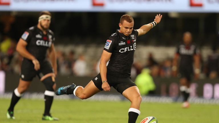 Curwin Bosch looked impressive for the Sharks