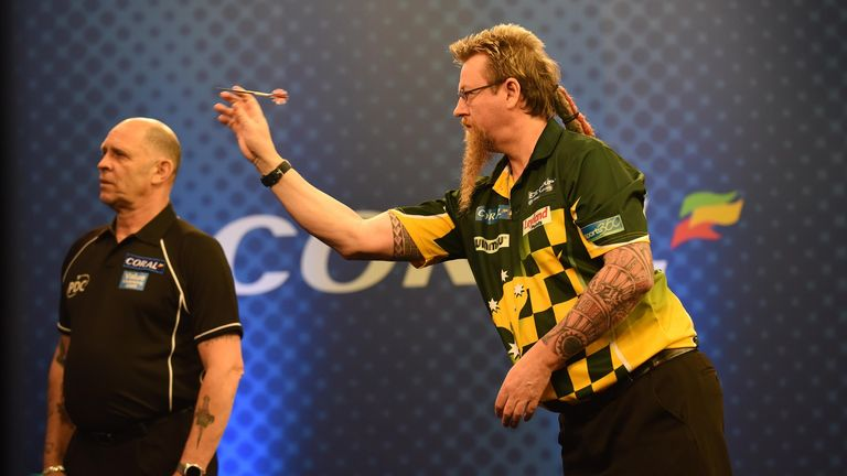 Simon Whitlock continued his fine form with victory in Sunday's Players Championship event