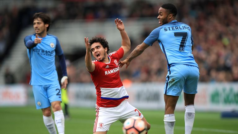 Image result for Middlesbrough 2 – 2 Manchester City