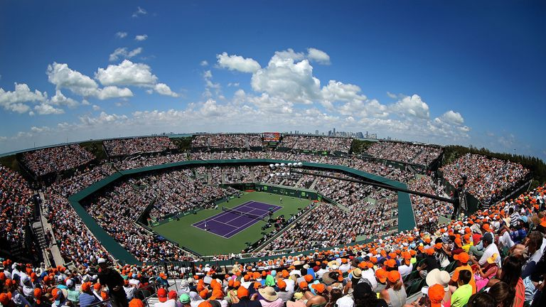 We'll bring you the very best action from Crandon Park Tennis Center in Miami