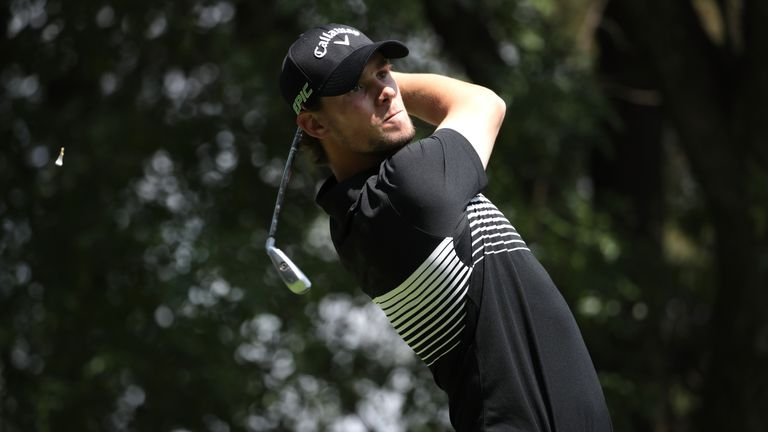 Thomas Pieters got off to a fast start before settling for a share of third