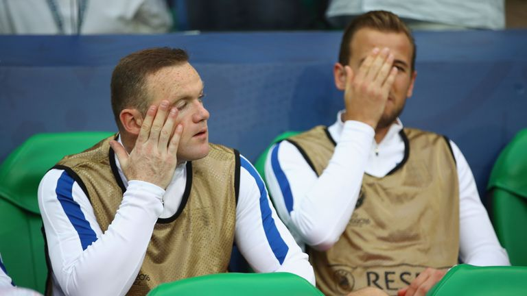 England will be without both Wayne Rooney and Harry Kane