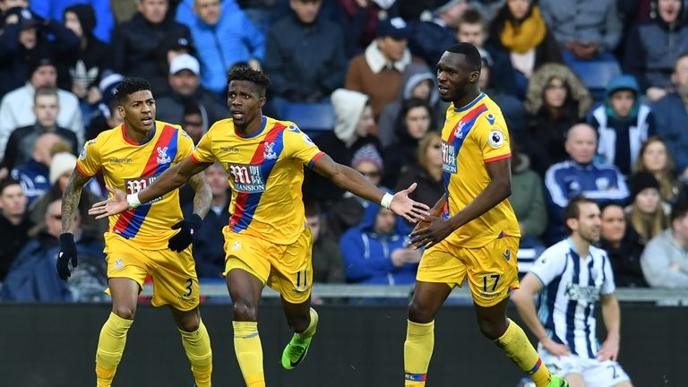 Wilfried Zaha was reportedly a summer target for Tottenham
