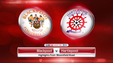 Blackpool 2-1 Hartlepool