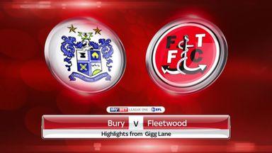 Bury 0-0 Fleetwood