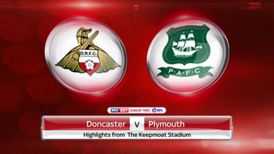 Doncaster 0-1 Plymouth