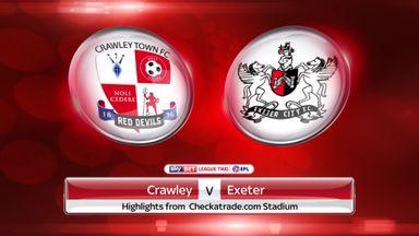 Crawley 1-2 Exeter