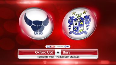 Oxford 5-1 Bury