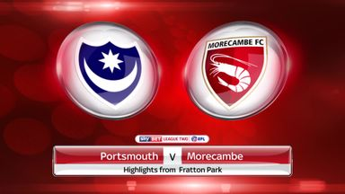 Portsmouth 1-1 Morecambe