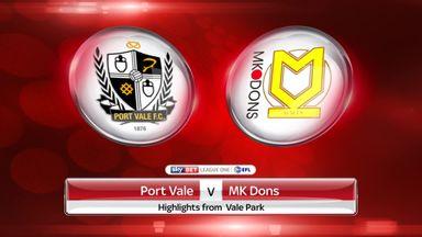 Port Vale 0-0 MK Dons