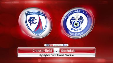 Chesterfield 1-3 Rochdale