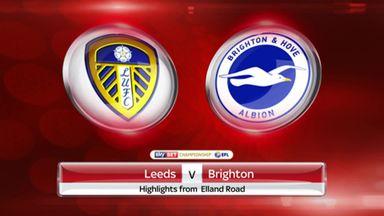 Leeds 2-0 Brighton
