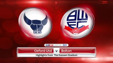 Oxford 2-4 Bolton