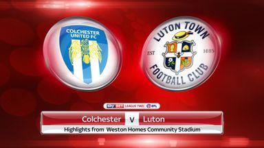 Colchester 2-1 Luton