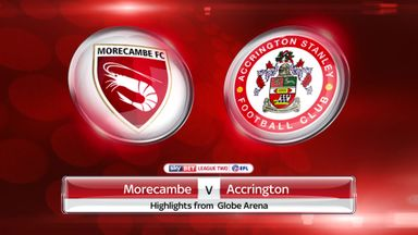 Morecambe 1-2 Accrington