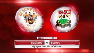 Blackpool 2-2 Barnet