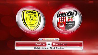 Burton 3-5 Brentford