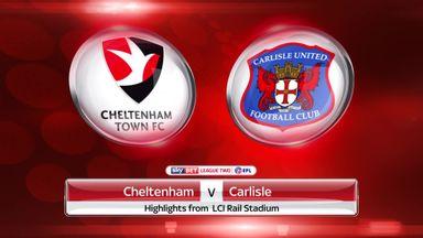 Cheltenham 1-0 Carlisle