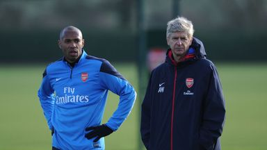 Thierry Henry has been touted as a potential replacement for Wenger at Arsenal