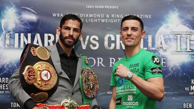 Anthony Crolla faces Jorge Linares in a world title rematch this Saturday, live on Sky Sports
