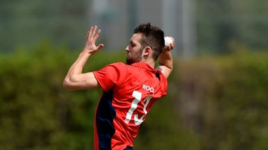 Mark Wood is back in action after undergoing surgery on his ankle over the winter