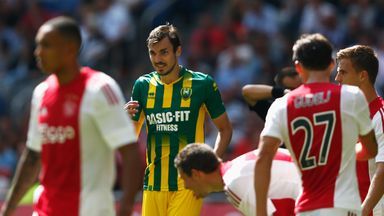 Mike Havenaar scored for ADO Den Haag
