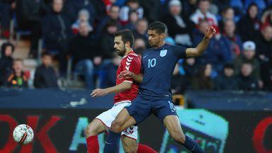 Ruben Loftus-Cheek scored twice for England U21s on Monday