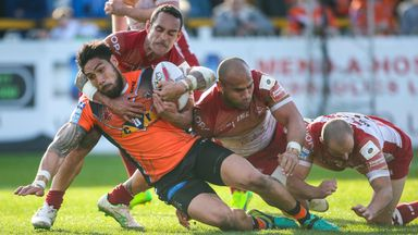 Jesse Sene-Lefao has scored two tries for Castleford since joining from Cronulla