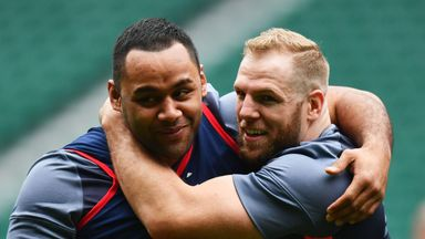 James Haskell says that his Lions call-up for Billy Vunipola has left him with mixed emotions