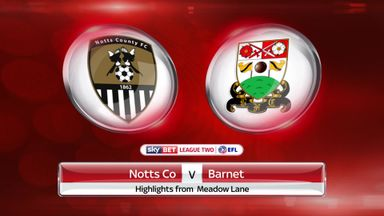 Notts County 1-0 Barnet