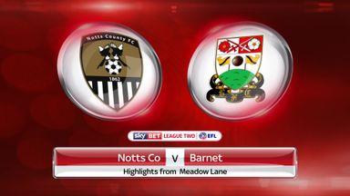 Notts County 1-0 Barnet
