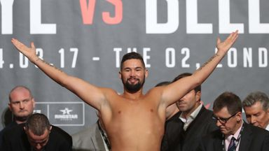 Tony Bellew has ruled out a heavyweight clash with Dillian Whyte