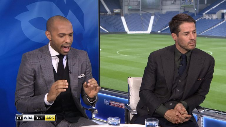 Sky Sports' pundits look at Arsenal's abject defending at West Brom