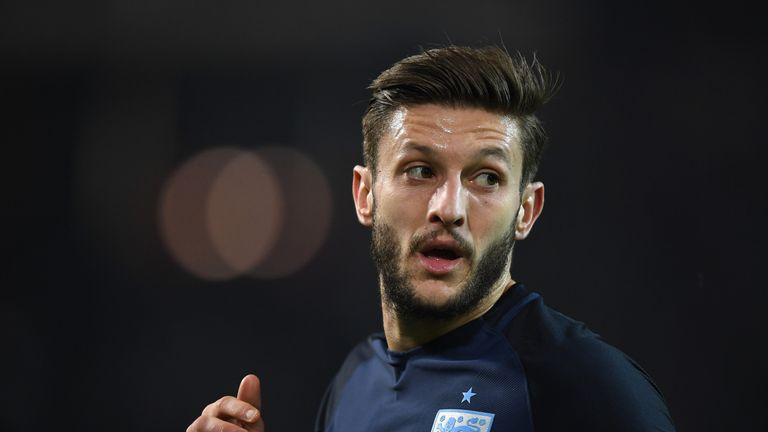 Adam Lallana impressed in England's 1-0 defeat to Germany
