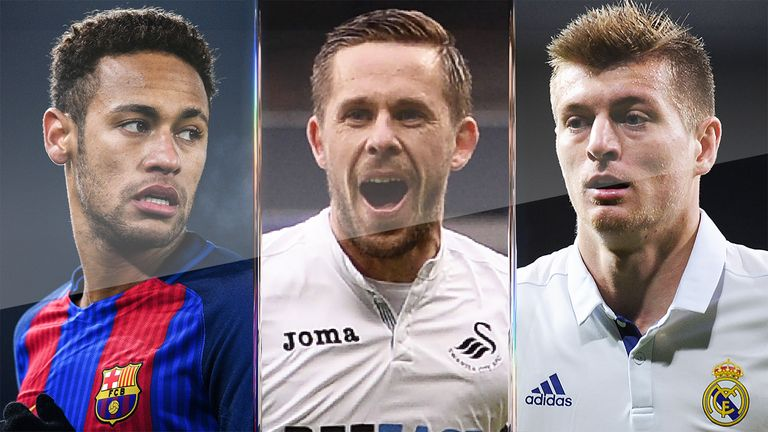 Swansea's Gylfi Sigurdsson is top of the pile for assists