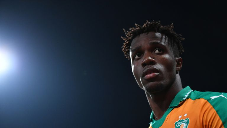 Wilfried Zaha has rejected Gareth Southgate's suggestion that there was a timescale set on England selection