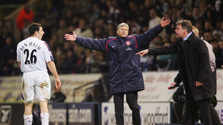 Allardyce enjoyed his best sequence of results against Wenger when he was in charge of Bolton Wanderers