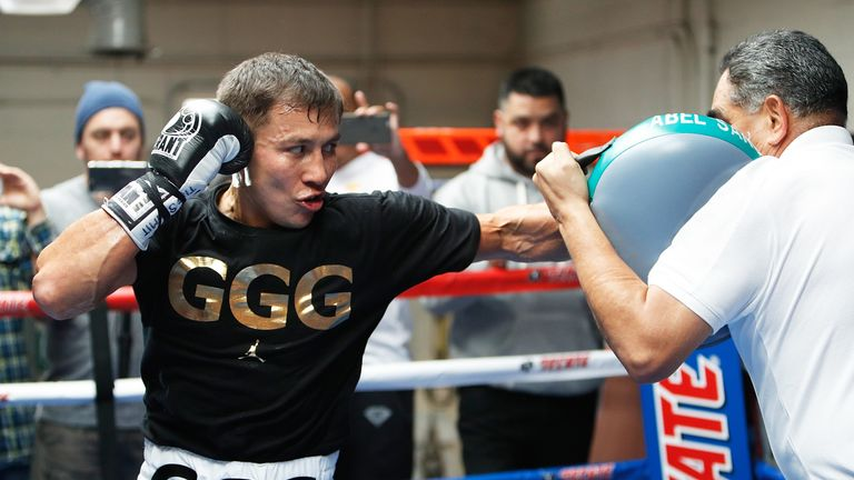 Golovkin has never tasted defeat in the pro ranks and has a record of 37-0
