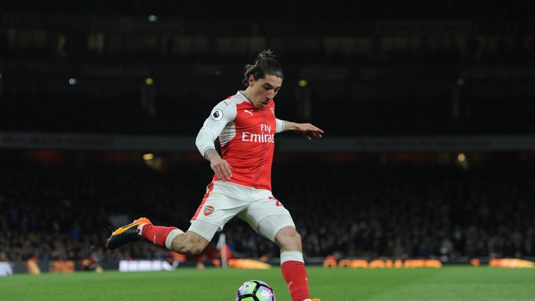 Hector Bellerin continues to be linked with Barcelona