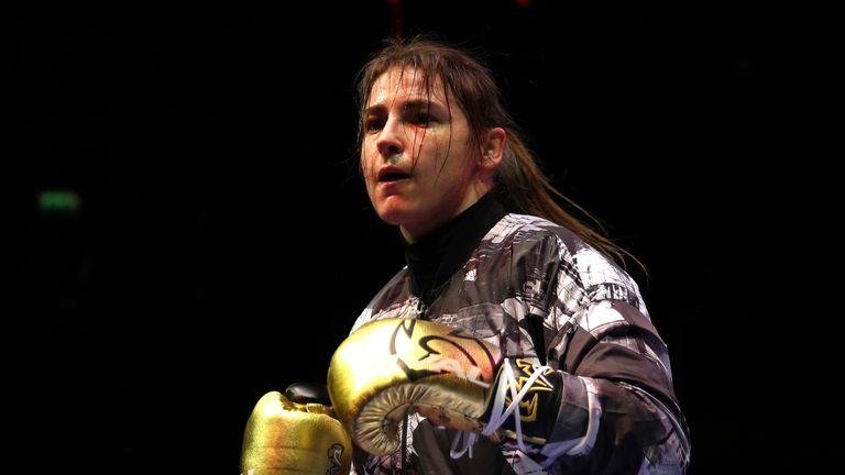 Katie Taylor to face unbeaten Nina Meinke on Joshua-Klitschko undercard