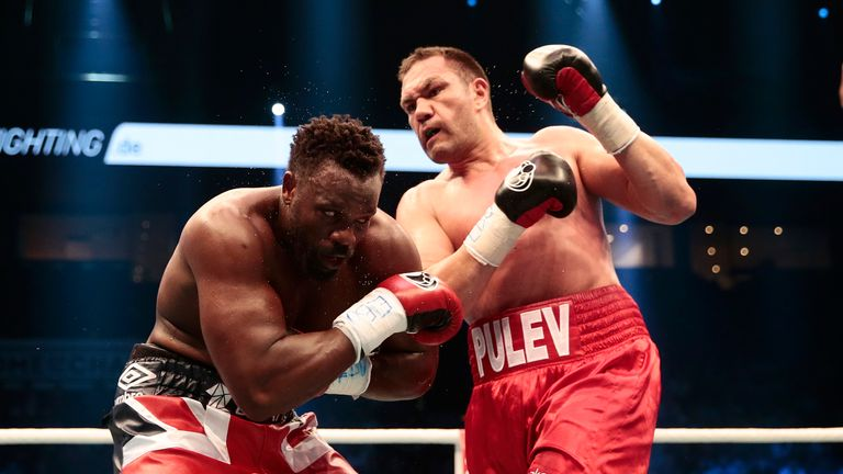 Kubrat Pulev has 25 wins with just a sole defeat to Wladimir Klitschko